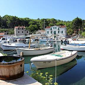 Rogac is still a small and quiet fishing village